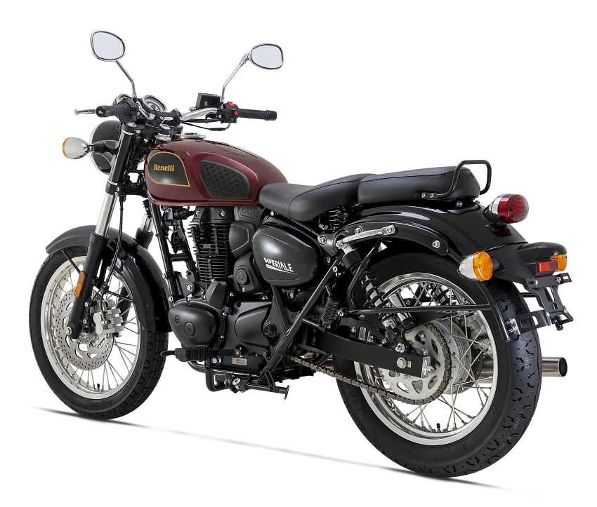 2020 Benelli Imperiale 400 in Malaysia dealer showrooms – priced at RM15,888, three colours Image #1149414