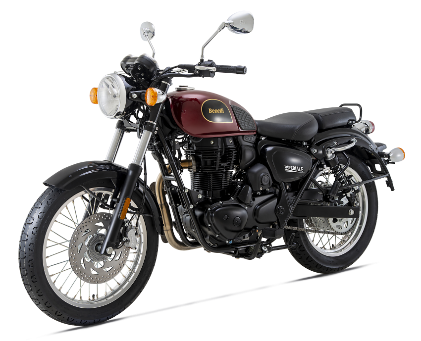 2020 Benelli Imperiale 400 in Malaysia dealer showrooms – priced at RM15,888, three colours Image #1149415