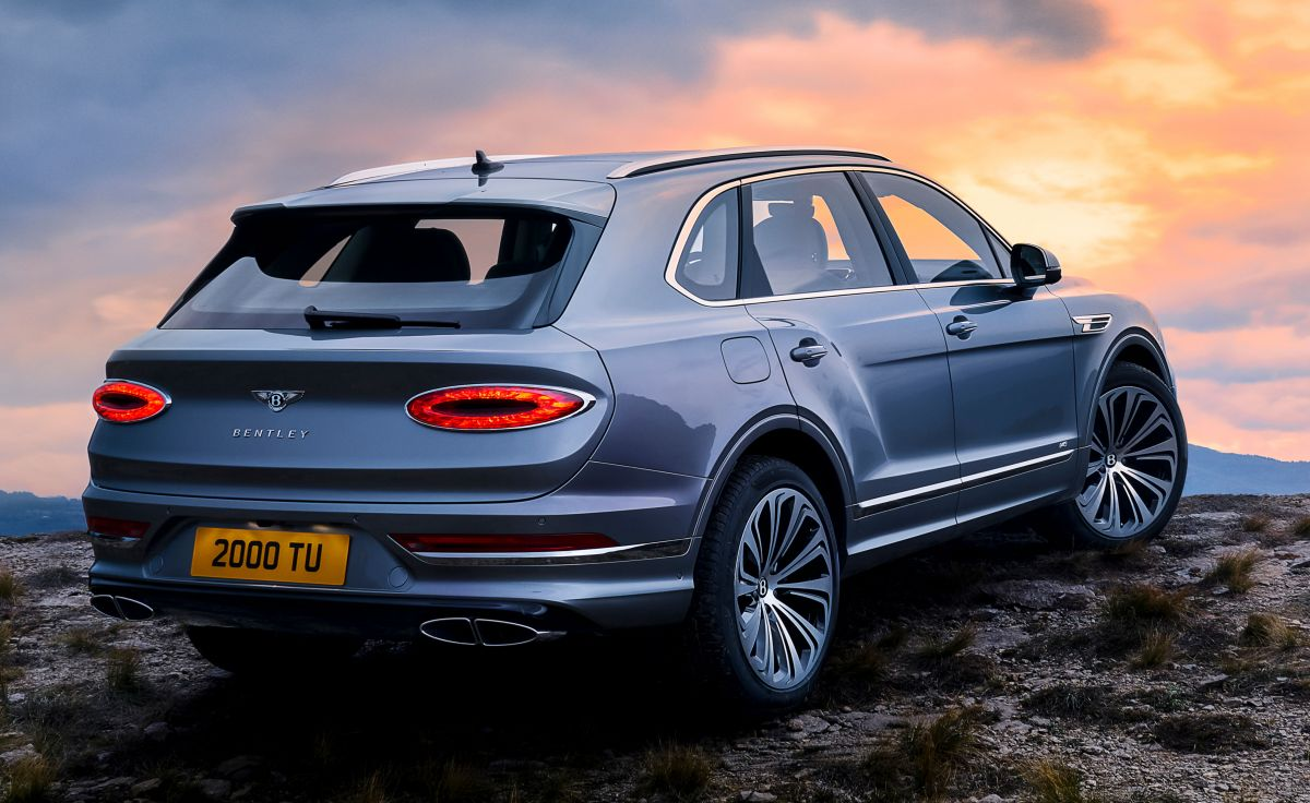 Bentley Bentayga Facelift Updated Family Looks And Tech V8 Only W12 Engine Reserved For Speed Model Paultan Org