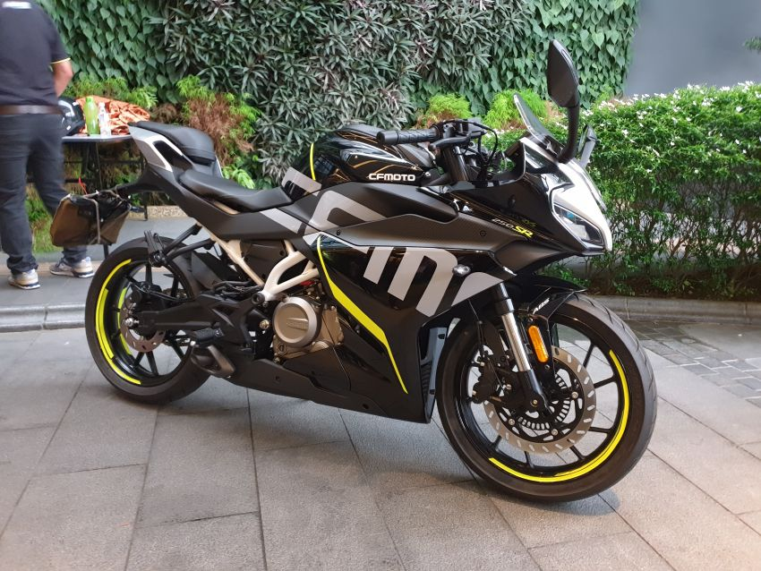 2020 CFMoto 250SR launched in Malaysia, RM15,800 Image #1152212