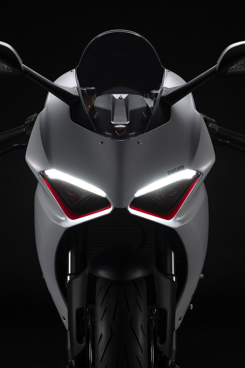 2020 Ducati Panigale V2 now in White Rosso colour scheme, Malaysia launch in July pending approval Image #1139720