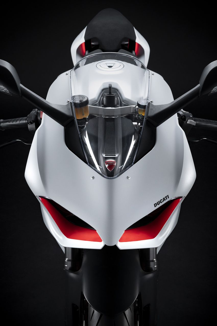 2020 Ducati Panigale V2 now in White Rosso colour scheme, Malaysia launch in July pending approval Image #1139722