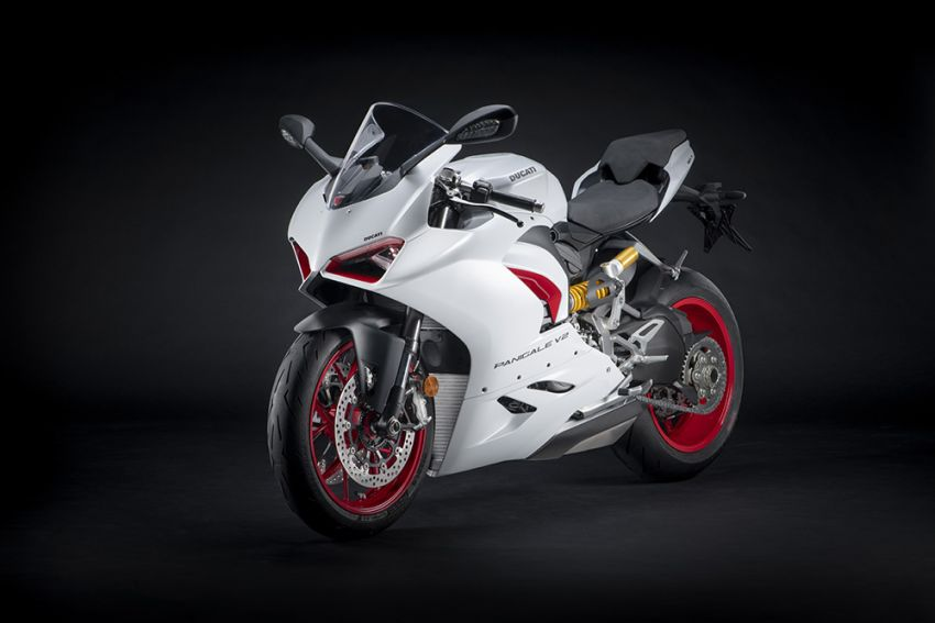 2020 Ducati Panigale V2 now in White Rosso colour scheme, Malaysia launch in July pending approval Image #1139712