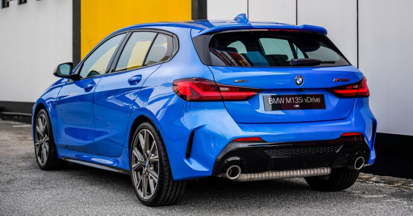 2020 F40 BMW M135i xDrive launched in Malaysia – AMG A35 rival with 306 PS, 450 Nm; priced at RM356k Image #1151582