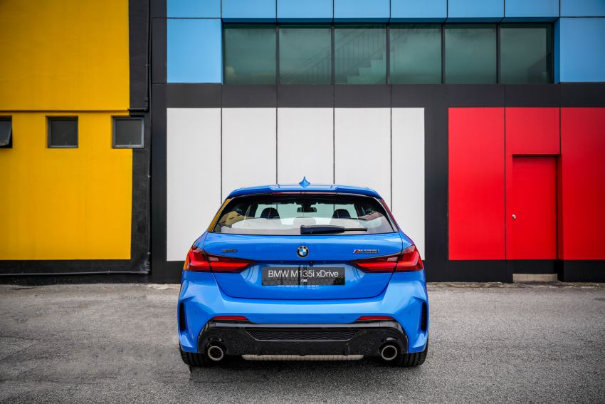 2020 F40 BMW M135i xDrive launched in Malaysia – AMG A35 rival with 306 PS, 450 Nm; priced at RM356k Image #1151590