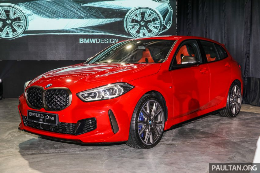 2020 F40 BMW M135i xDrive launched in Malaysia – AMG A35 rival with 306 PS, 450 Nm; priced at RM356k Image #1151716