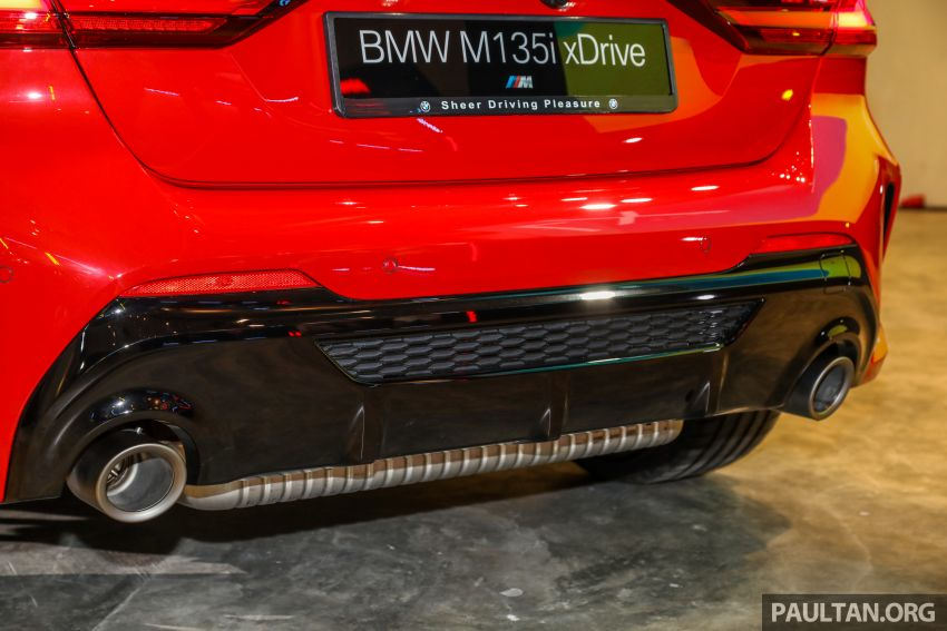 2020 F40 BMW M135i xDrive launched in Malaysia – AMG A35 rival with 306 PS, 450 Nm; priced at RM356k Image #1151736