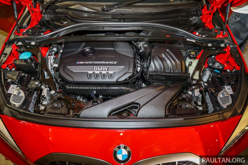 2020 F40 BMW M135i xDrive launched in Malaysia – AMG A35 rival with 306 PS, 450 Nm; priced at RM356k Image #1151740