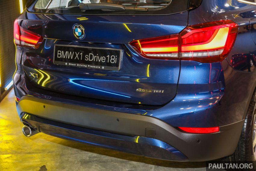 BMW X1 sDrive 18i kini di Malaysia – RM208,368, enjin tiga-silinder 1.5 liter turbo berkuasa 140 PS/220 Nm Image #1151968