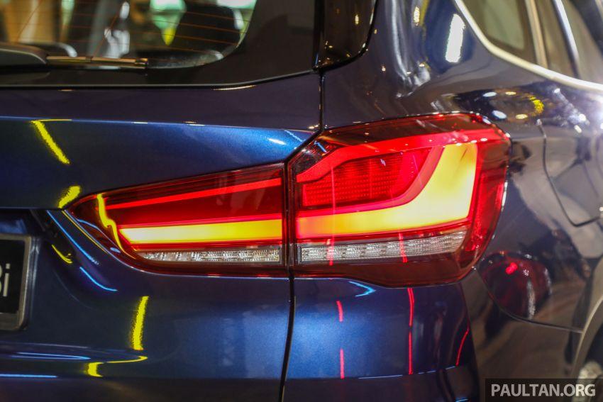BMW X1 sDrive 18i kini di Malaysia – RM208,368, enjin tiga-silinder 1.5 liter turbo berkuasa 140 PS/220 Nm Image #1151969