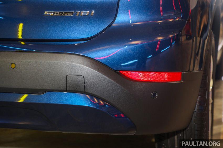 BMW X1 sDrive 18i kini di Malaysia – RM208,368, enjin tiga-silinder 1.5 liter turbo berkuasa 140 PS/220 Nm Image #1151970
