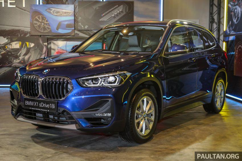 BMW X1 sDrive 18i kini di Malaysia – RM208,368, enjin tiga-silinder 1.5 liter turbo berkuasa 140 PS/220 Nm Image #1151953