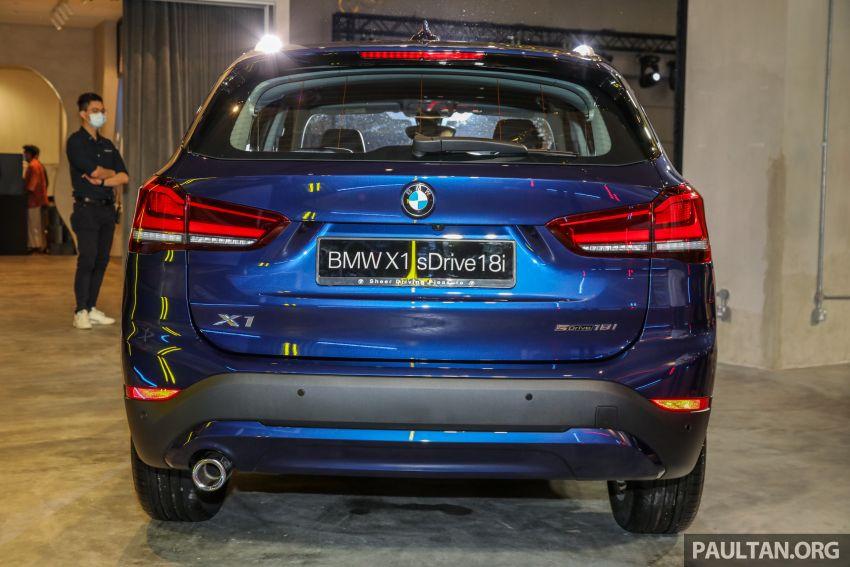 BMW X1 sDrive 18i kini di Malaysia – RM208,368, enjin tiga-silinder 1.5 liter turbo berkuasa 140 PS/220 Nm Image #1151957