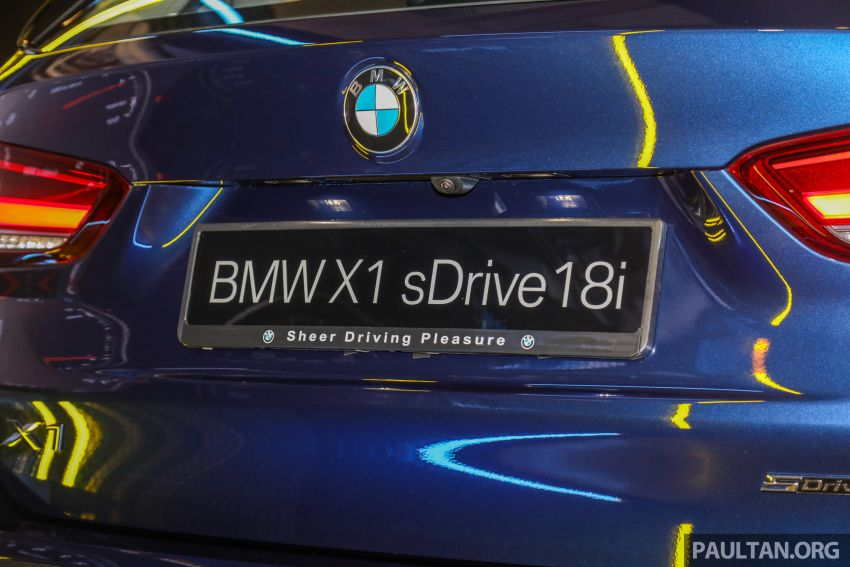 2020 F48 BMW X1 sDrive18i launched in Malaysia – 1.5L turbo three-cylinder with 140 PS; AEB; RM208k Image #1151798