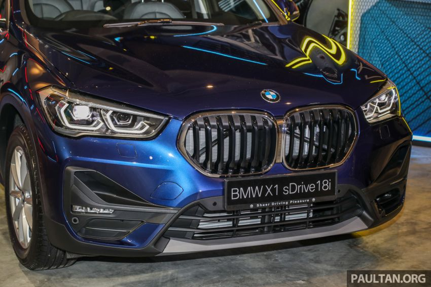 2020 F48 BMW X1 sDrive18i launched in Malaysia – 1.5L turbo three-cylinder with 140 PS; AEB; RM208k Image #1151784