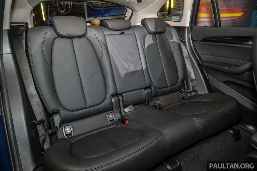 BMW X1 sDrive 18i kini di Malaysia – RM208,368, enjin tiga-silinder 1.5 liter turbo berkuasa 140 PS/220 Nm Image #1152012