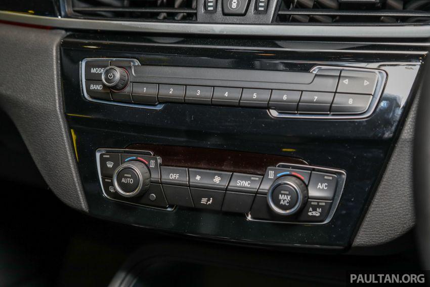 BMW X1 sDrive 18i kini di Malaysia – RM208,368, enjin tiga-silinder 1.5 liter turbo berkuasa 140 PS/220 Nm Image #1151987