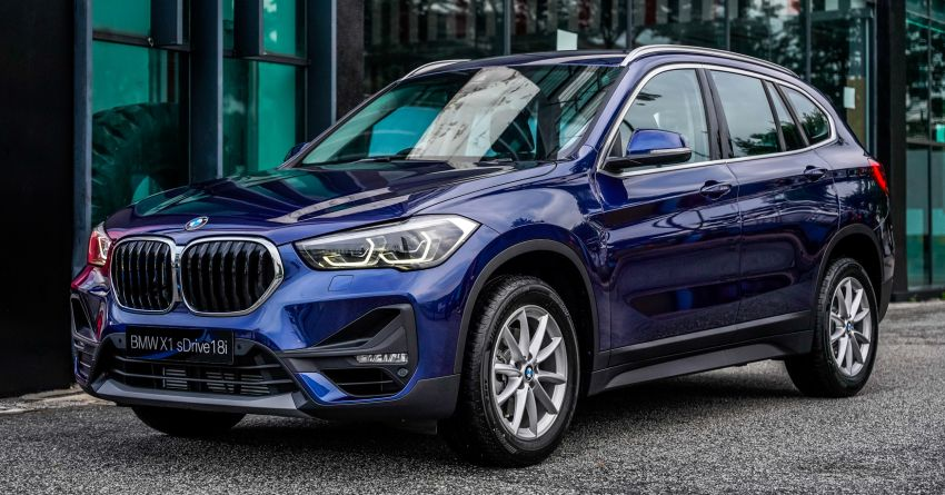 2020 F48 BMW X1 sDrive18i launched in Malaysia – 1.5L turbo three-cylinder with 140 PS; AEB; RM208k Image #1151638