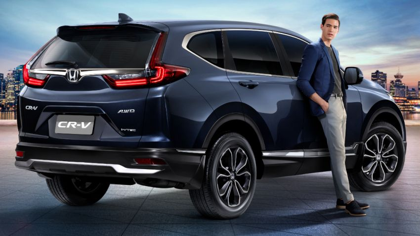 2020 Honda CR-V facelift launched in Thailand – 2.4L NA petrol and 1.6L diesel remain, RM186k to RM239k Image #1144962