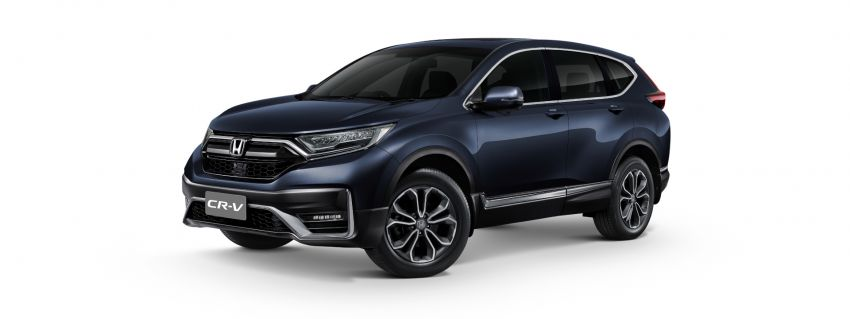 2020 Honda CR-V facelift launched in Thailand – 2.4L NA petrol and 1.6L diesel remain, RM186k to RM239k Image #1144964