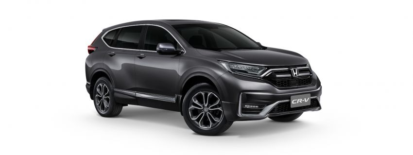 2020 Honda CR-V facelift launched in Thailand – 2.4L NA petrol and 1.6L diesel remain, RM186k to RM239k Image #1144965