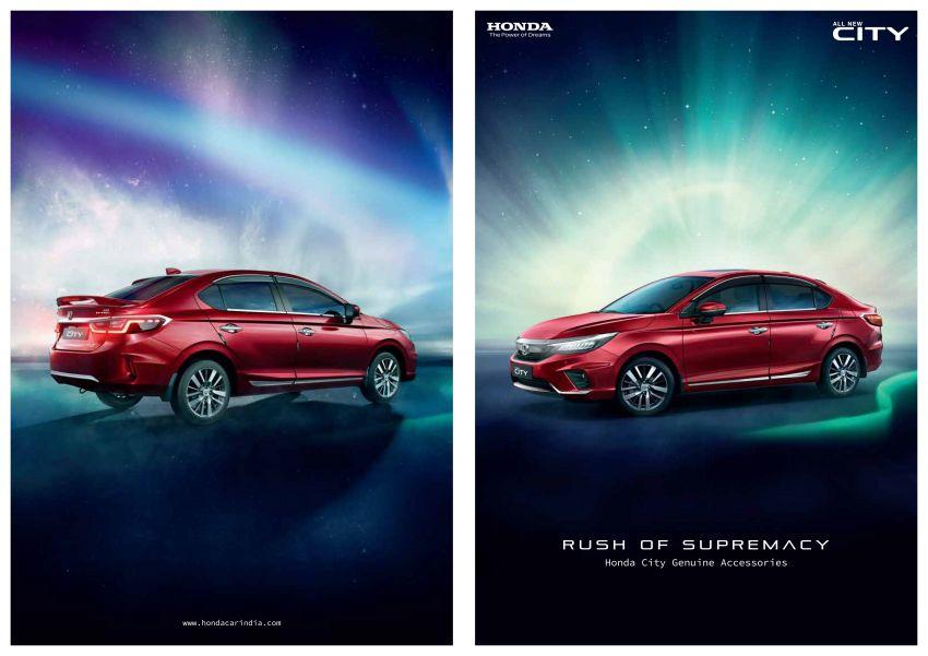 Honda City 2020 dilancar di India – pilihan enjin 1.5L i-VTEC dan diesel; LaneWatch; dari RM62k-RM83k Image #1147729