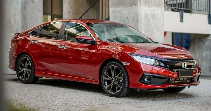 Honda Civic facelift 2020 duduki carta teratas segmen-C – lebih 6,500 tempahan; 2,900 telah dihantar Image #1140197