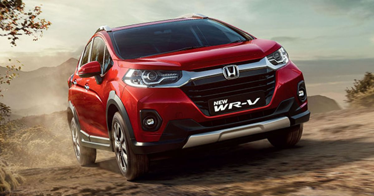 2020 Honda WR-V facelift launched in India - updated ...