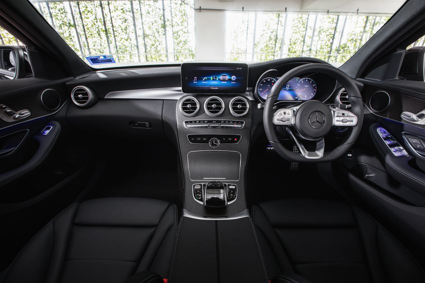 2020 Mercedes-Benz C200 AMG Line launched in Malaysia – 2.0L Turbo replaces 1.5L EQ Boost, RM252k Image #1146330