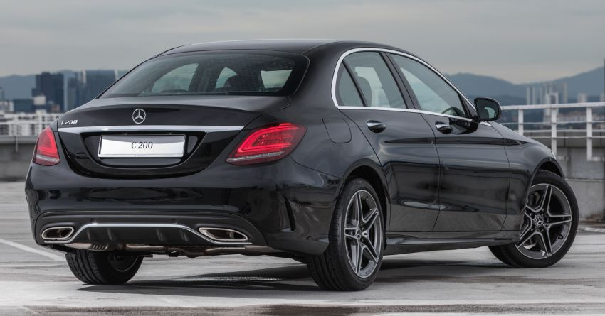 2020 Mercedes-Benz C200 AMG Line launched in Malaysia – 2.0L Turbo replaces 1.5L EQ Boost, RM252k Image #1146342
