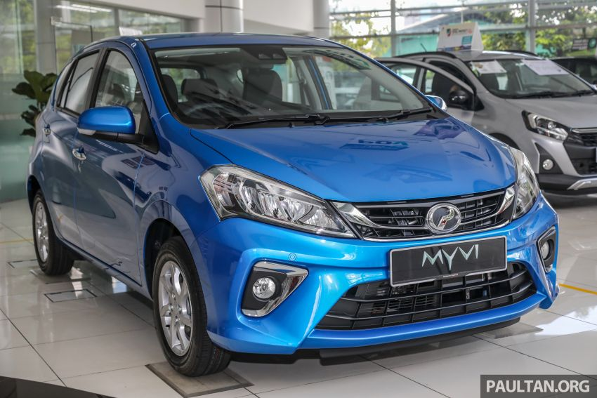 GALLERY: 2020 Perodua Myvi 1.3 X with ASA 2.0 in new Electric Blue colour – priced at RM46,959 OTR Image #1150197