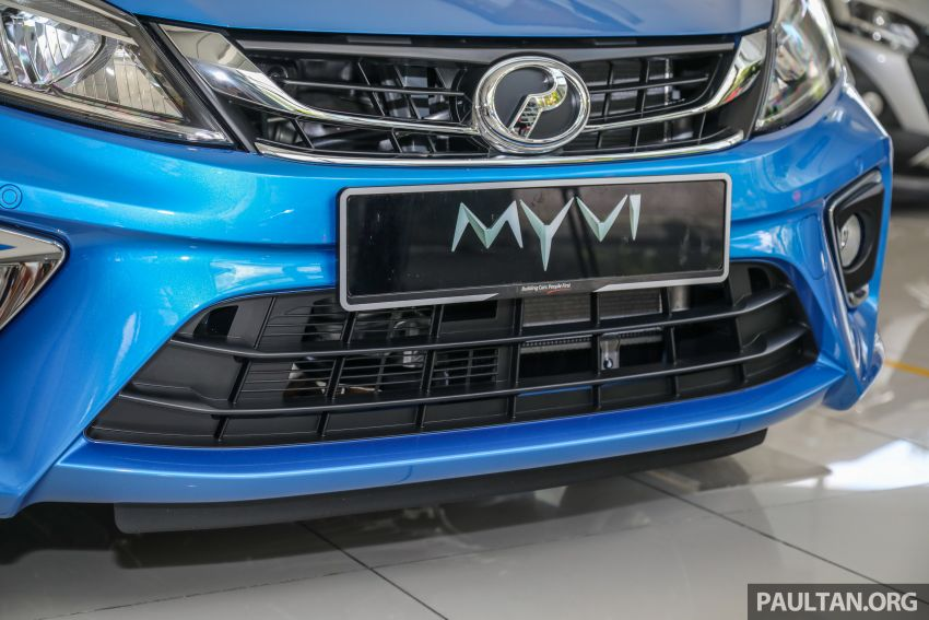 GALLERY: 2020 Perodua Myvi 1.3 X with ASA 2.0 in new Electric Blue colour – priced at RM46,959 OTR Image #1150207