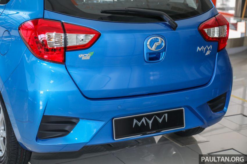 GALERI: Perodua Myvi 1.3 X 2020 dengan ASA 2.0 dan warna baharu <em>Electric Blue</em> – RM46,959 tanpa SST Image #1150124