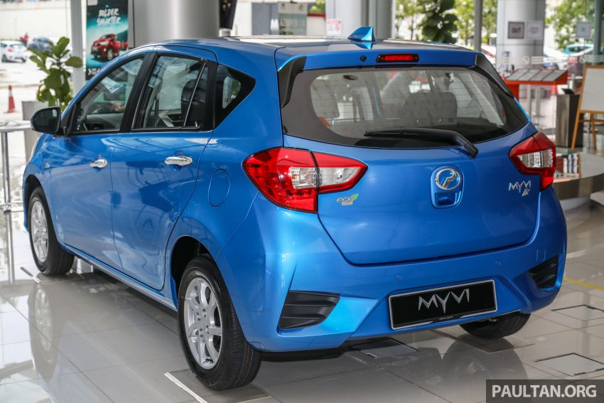 GALLERY: 2020 Perodua Myvi 1.3 X with ASA 2.0 in new Electric Blue colour – priced at RM46,959 OTR Image #1150198