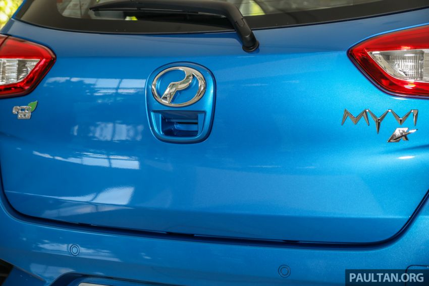 GALLERY: 2020 Perodua Myvi 1.3 X with ASA 2.0 in new Electric Blue colour – priced at RM46,959 OTR Image #1150220