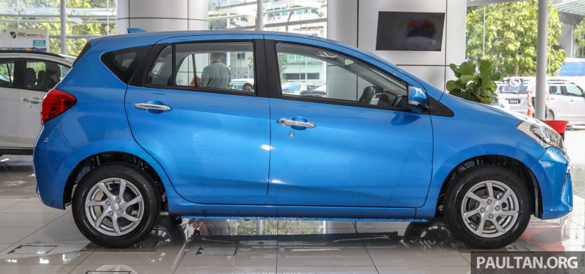 GALLERY: 2020 Perodua Myvi 1.3 X with ASA 2.0 in new Electric Blue colour – priced at RM46,959 OTR Image #1150199