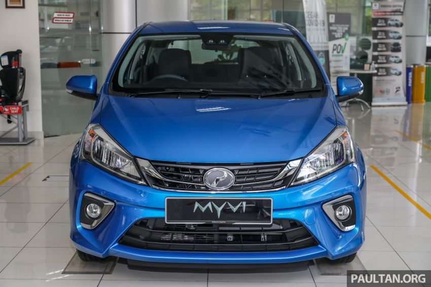 GALLERY: 2020 Perodua Myvi 1.3 X with ASA 2.0 in new Electric Blue colour – priced at RM46,959 OTR Image #1150200