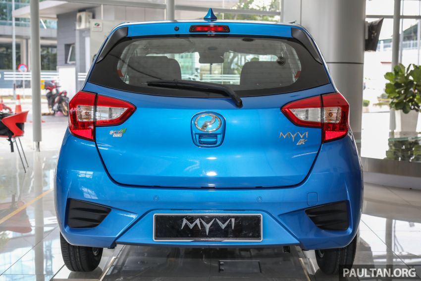 GALLERY: 2020 Perodua Myvi 1.3 X with ASA 2.0 in new Electric Blue colour – priced at RM46,959 OTR Image #1150201