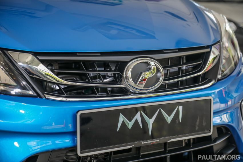 GALLERY: 2020 Perodua Myvi 1.3 X with ASA 2.0 in new Electric Blue colour – priced at RM46,959 OTR Image #1150206