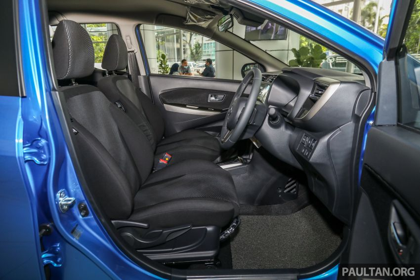 GALLERY: 2020 Perodua Myvi 1.3 X with ASA 2.0 in new Electric Blue colour – priced at RM46,959 OTR Image #1150246