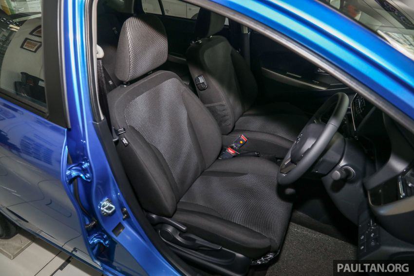 GALLERY: 2020 Perodua Myvi 1.3 X with ASA 2.0 in new Electric Blue colour – priced at RM46,959 OTR Image #1150247