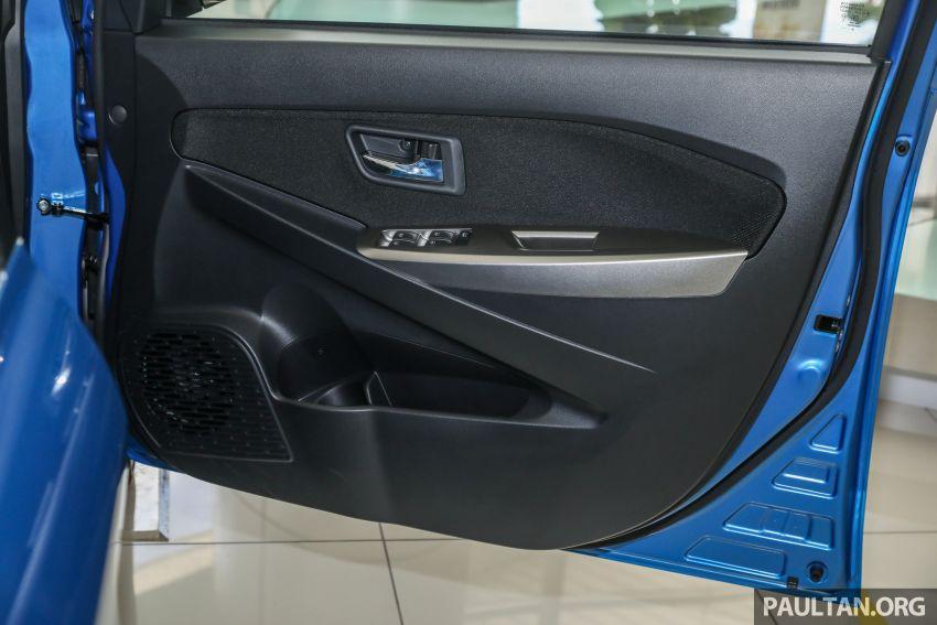 GALERI: Perodua Myvi 1.3 X 2020 dengan ASA 2.0 dan warna baharu <em>Electric Blue</em> – RM46,959 tanpa SST Image #1150164
