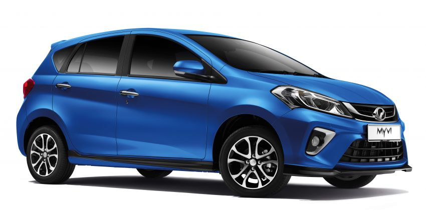 2020 Perodua Myvi – now with ASA 2.0, Electric Blue Image #1146277