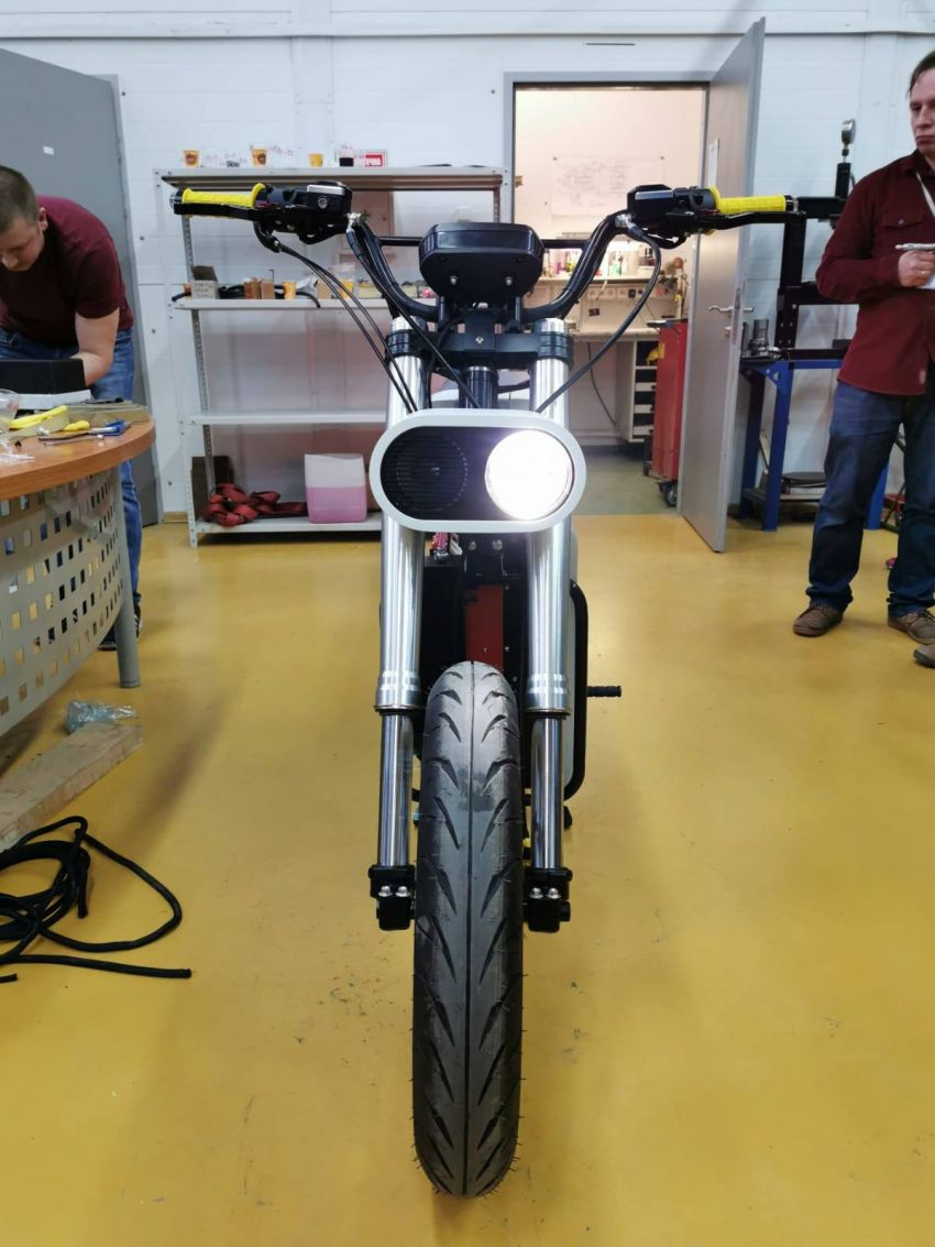 Punch Moto e-bike is a minimalist design. Like it? Image #1149737