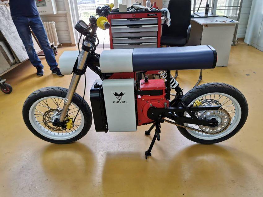 Punch Moto e-bike is a minimalist design. Like it? Image #1149741