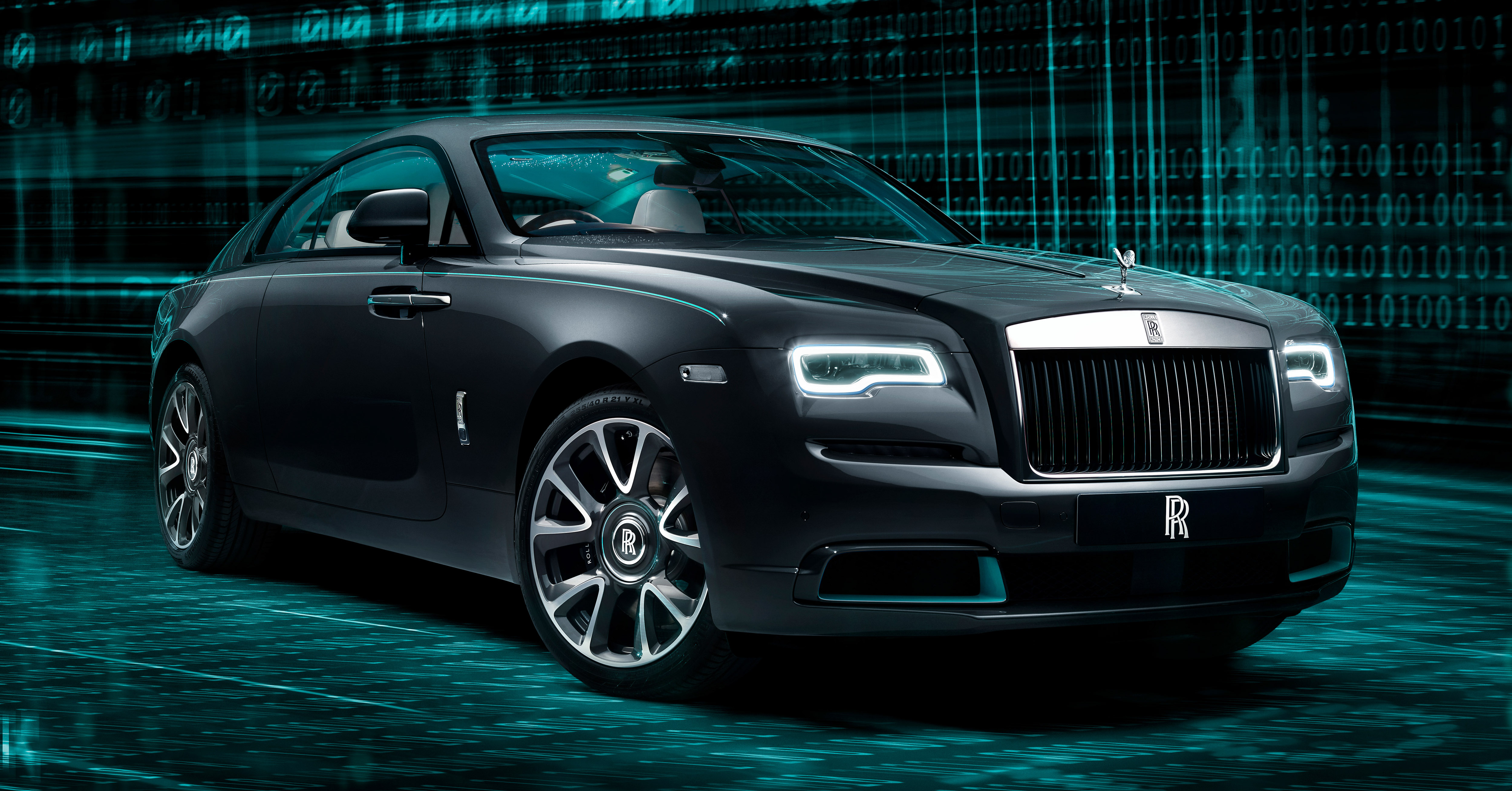 2021 rollsroyce wraith kryptos debuts 50 units only 2020