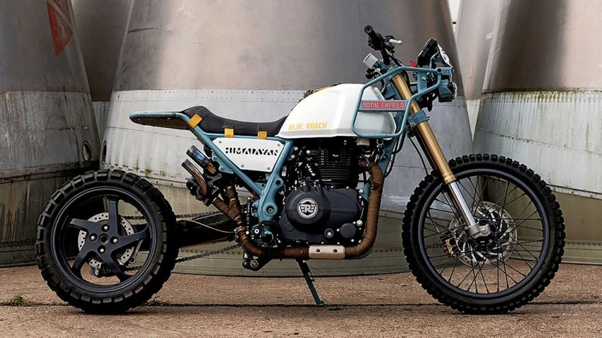 Royal Enfield's Himalayan Major Roach is your dystopian fever dream hill climber motorcycle Image #1150960