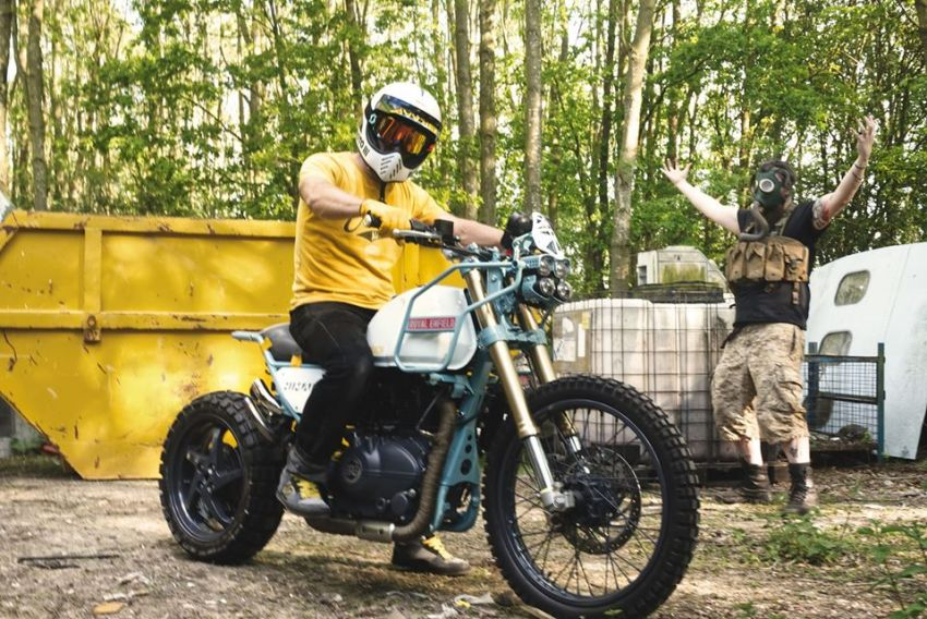 Royal Enfield's Himalayan Major Roach is your dystopian fever dream hill climber motorcycle Image #1150963