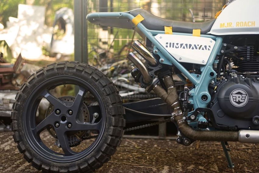 Royal Enfield's Himalayan Major Roach is your dystopian fever dream hill climber motorcycle Image #1150965