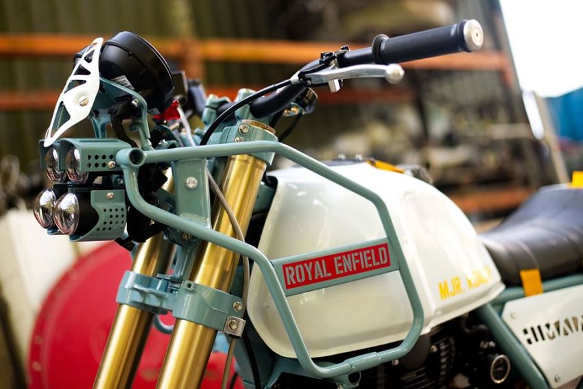 Royal Enfield's Himalayan Major Roach is your dystopian fever dream hill climber motorcycle Image #1150966